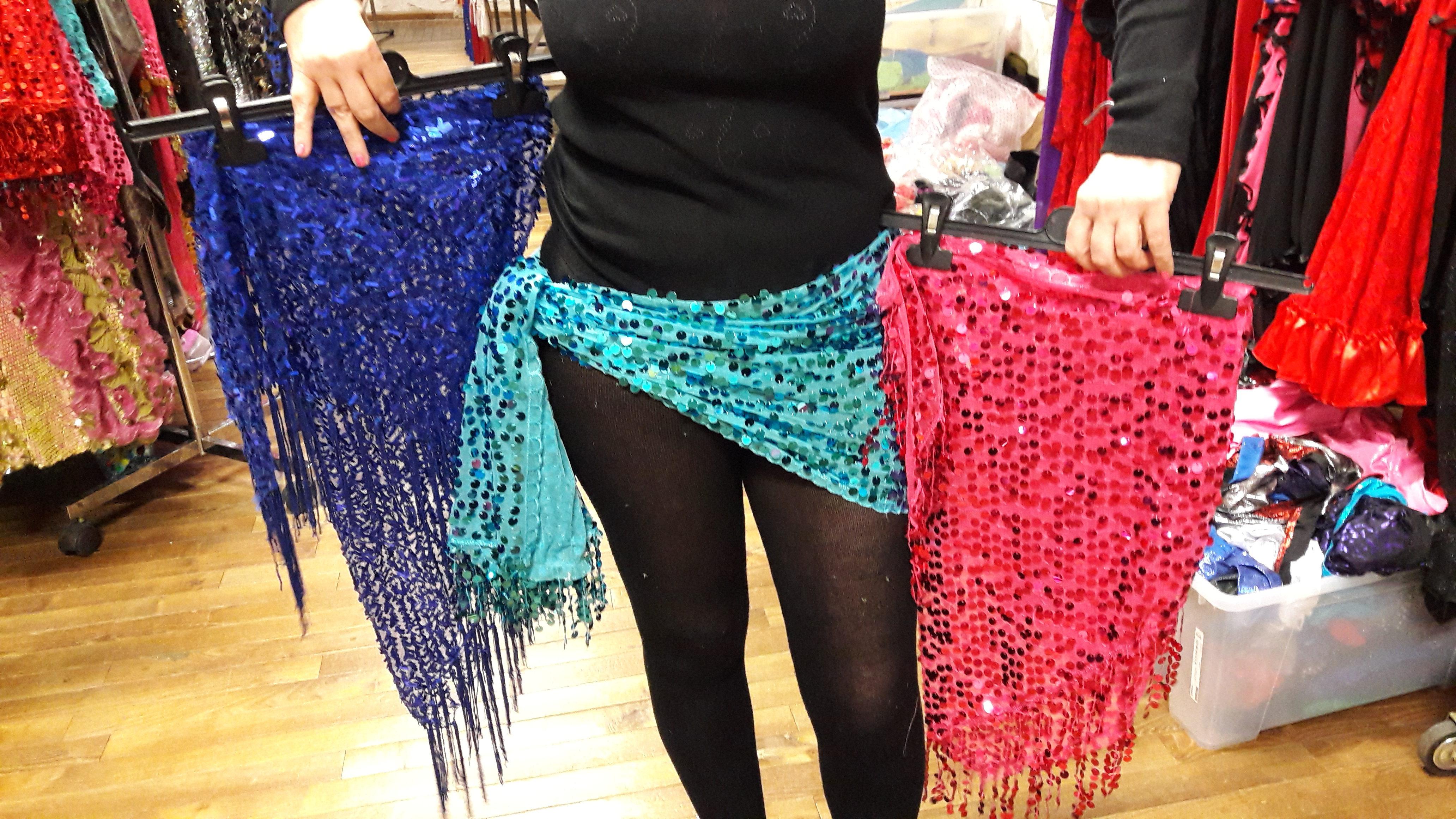 foulard - écharpe pailleté  triangle   Sandra Danse 43e3684d8c8